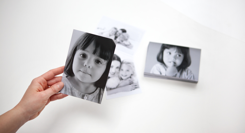 Fotoabzüge Schwarz-Weiss