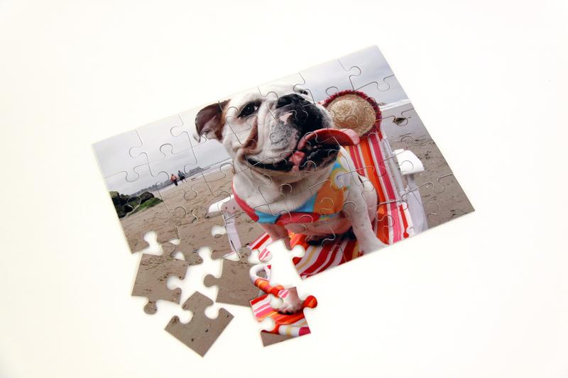 Foto-Puzzle vom eigenen Foto
