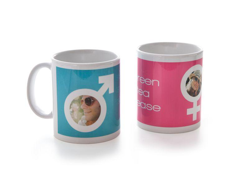 Tassen für Verliebte mit Foto