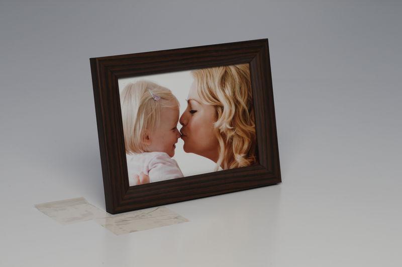Foto-Rahmen 10 x 15 Braun