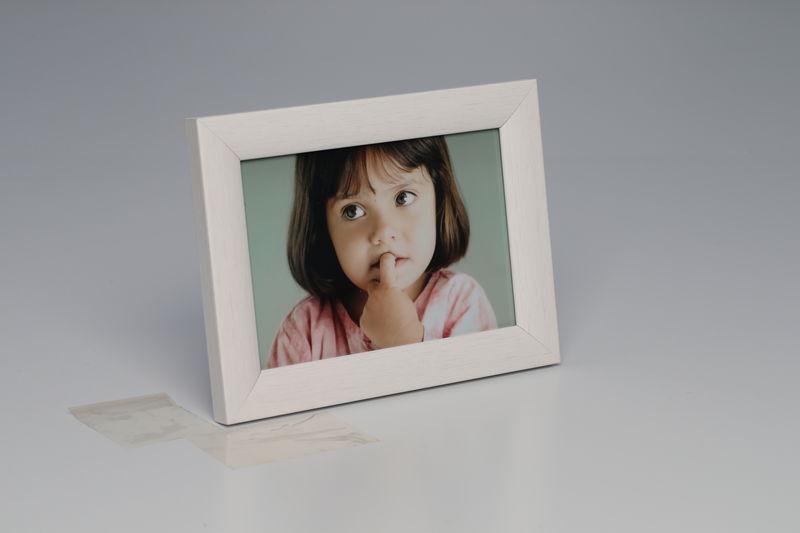 Foto-Rahmen 10 x 15 Weiss